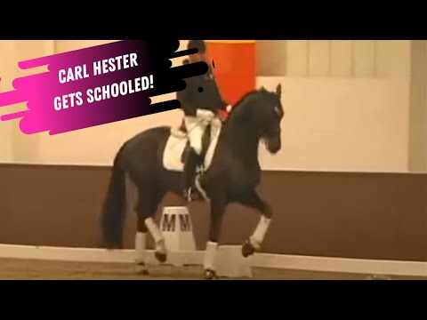 Carl Hester Gets Schooled By Jean Bemelmans