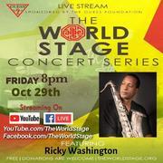 "RICKEY WASHINGTON ""Livestream / Archive"" From: The 'new' World STAGE *updatez* [Next-up: TGIF]"