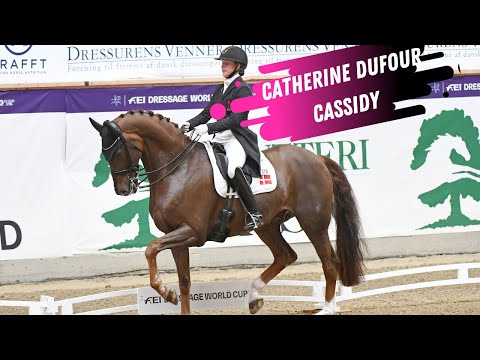 World Cup Herning: Catherin Dufour & Cassidy Win Grand Prix Dressage Freestyle (92% Artistic)