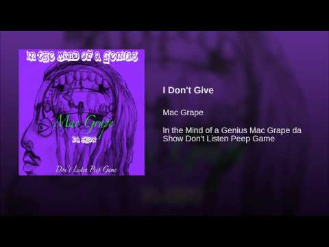 I Don't Give