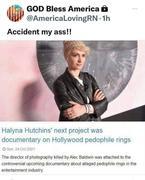 Baldwin SHOT HER!  Hmmmm....