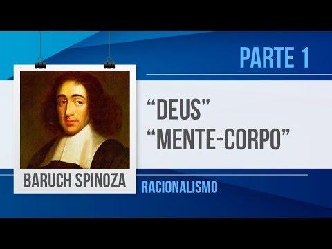 BARUCH SPINOZA(1) – DEUS, RELAÇÃO MENTE-CORPO   FILOSOFIA