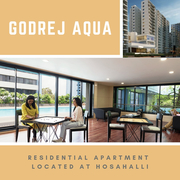 Godrej Aqua | Upcoming Residential Apartment At Hosahalli Bangalore