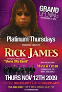 TRIBUTE TO RICK JAMES