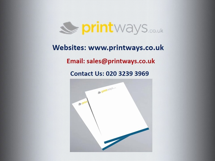 Excellent Business Letterhead Printing in UK