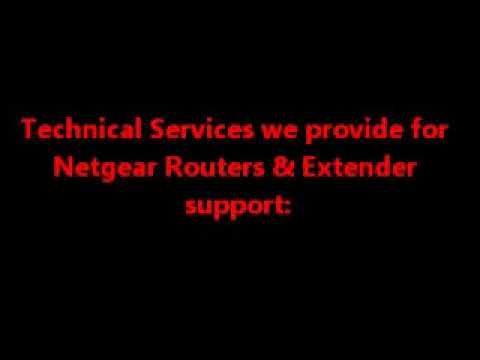 Technical Support For Netgear Router