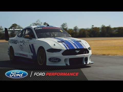 New Ford Mustang Supercar Makes Track Debut | Ford Performance