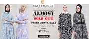 Print Abayas at EastEssence