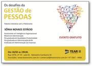 PALESTRA GRATUITA OS DESAFIOS GESTÃO PESSOAS