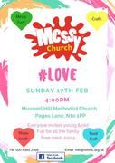 Messy Church #Love