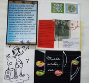 Mail art exibition project Voice to people