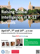 Raising Global Intelligence in K-12 Schools Workshop