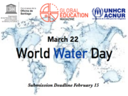CALL FOR PAPER! Global Education Magazine: World Water Day