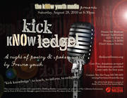 Kick Knowledge! A Night of Poetry and Spoken Word by Fresno Youth