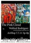"""CAG PRESENTS: Walfred Rodriguez's Art Exhibition: """"The Pink Cloud"""""""
