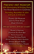 Fresno Art Museum's 65th Anniversary + Holiday Party Dec. 18th