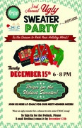 CMAC's 3rd Annual Ugly Sweater Party & Potluck