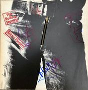 The Rolling Stones Signed Sticky Fingers Album