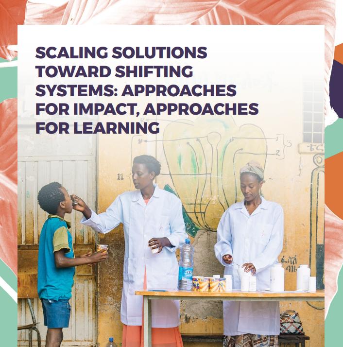 Rockefeller Philanthropy Advisors -  Soluções de escala para mudar sistemas: abordagens para impacto, abordagens para aprendizado