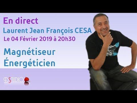 Laurent Jean-François Cesa - Magnétiseur Energéticien