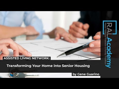 Transforming Your Home Into Senior Housing - by Gene Guarino