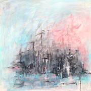 10. LANDSCHAFTS IMPRESSION, 100 x 100 cm.Acryl auf Canvas