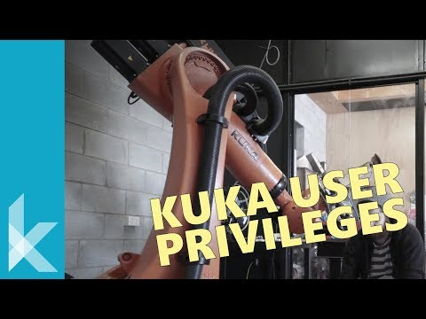 Changing User Privileges on a KUKA Tutorial