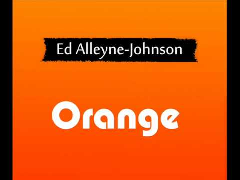 Ed Alleyne Johnson - Orange