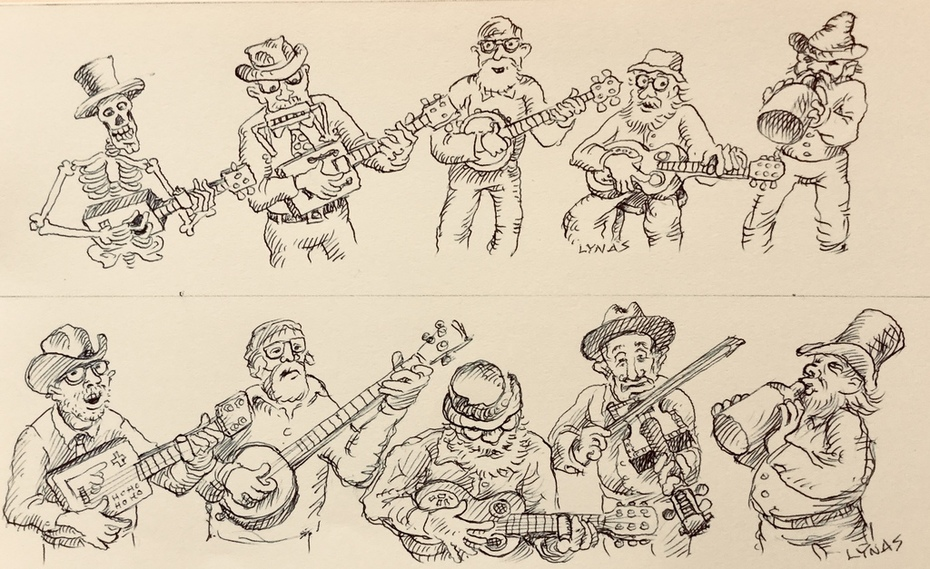 Drawings for Jim's window Guitar