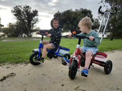 Little Nation Toddler Trike Offroad Spin