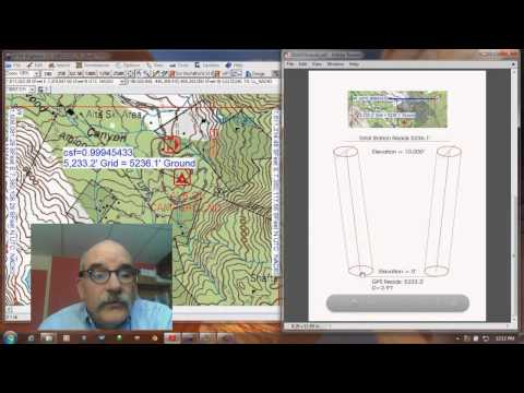 Precision GPS: Grid vs. Ground