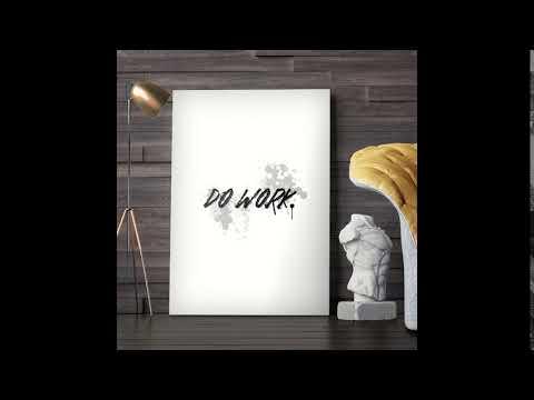 Do Work - Motivational Canvas Wall Art