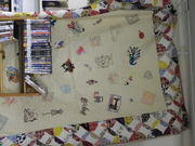 sewing quilt