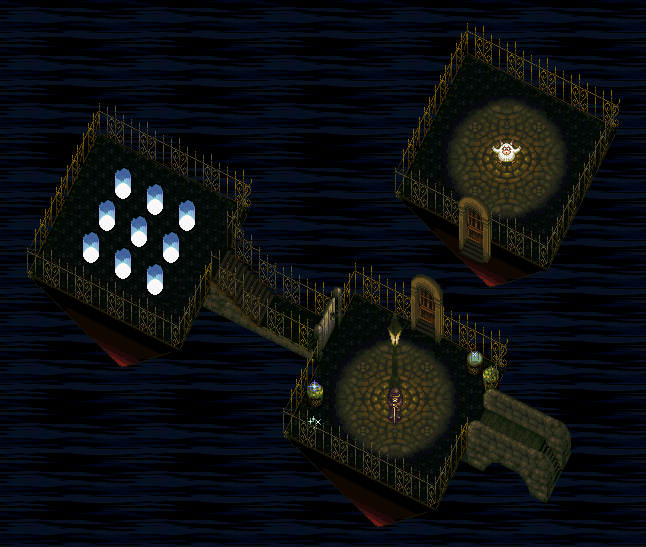 Chrono Trigger (1995) End of Time Room
