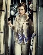 Carrie Fisher Autograph 8x10 2