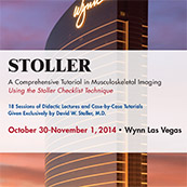 Stoller: A Comprehensive Tutorial in Musculoskeletal Imaging Using the Stoller Checklist Technique