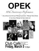OPEK at Club Cafe