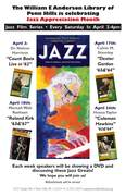 Jazz Film Series at Penn Hills Library
