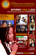 Father's Day Celebration & Juneteenth Recognition An Evening of Comedy and Performances