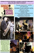 DONALD BYRD/PEPPER ADAMS QUINTET PROJECT 2011