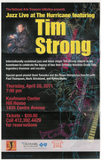 TIM STRONG featured at  Jazz Live at the Hurricane