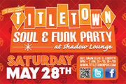TITLE TOWN Soul & Funk Party @ Shadow Lounge