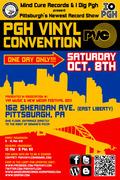 Pgh Vinyl Convention (PVC) debuts SAT. 10/8/2011