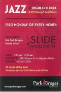 SLIDE WORLDWIDE at PARK BRUGES for JAZZ MONDAY