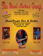 Mani Stokes Group @ Backdraft Bar & Grille