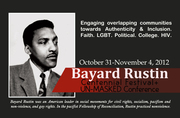 The Bayard Rustin Centennial Festival and UN Masked Conference