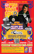 PVC Open-Turntable Record Bar/Happy Hour at Eclipse Lounge