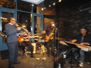 JAZZ LIVE presents Dr. Nelson Harrison's Jazzburgher Quartet at Backstage Bar