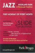 November Jazz Monday @Park Bruges w/Hill Jordan & Slide Worldwide TONIGHT!!!