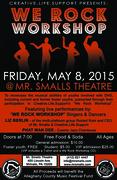 We ROck Workshop students final concert at Mr Smalls Theatre!